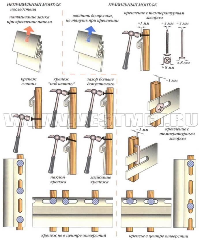 сайдиг алюминиевый инструкция по монтажу