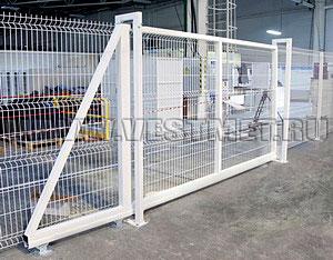 Откатные ворота Profi