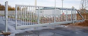 Откатные ворота Proteсt