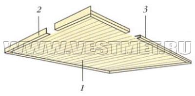 Пример устройства софита над открытой верандой