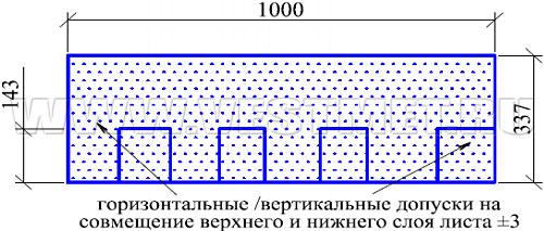 ШЕРВУД (Sherwood) - гибкая черепица с базальтовым гранулятом линии Nobil Tile - схема гонта