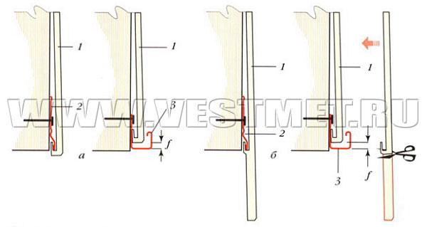 Примеры соединений внахлест сайдинговых панелей