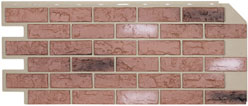 Hand-Laid Brick, Used Red