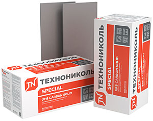 Утеплитель XPS ТЕХНОНИКОЛЬ CARBON SOLID